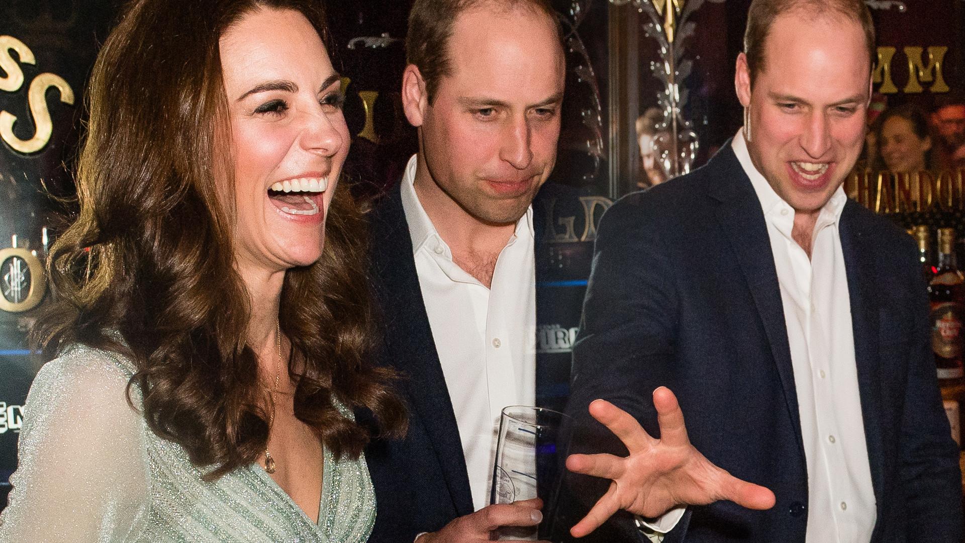 Tacy jak my? Kate leje piwo, a William popija zadowolony. Te ZDJĘCIA robią furorę!