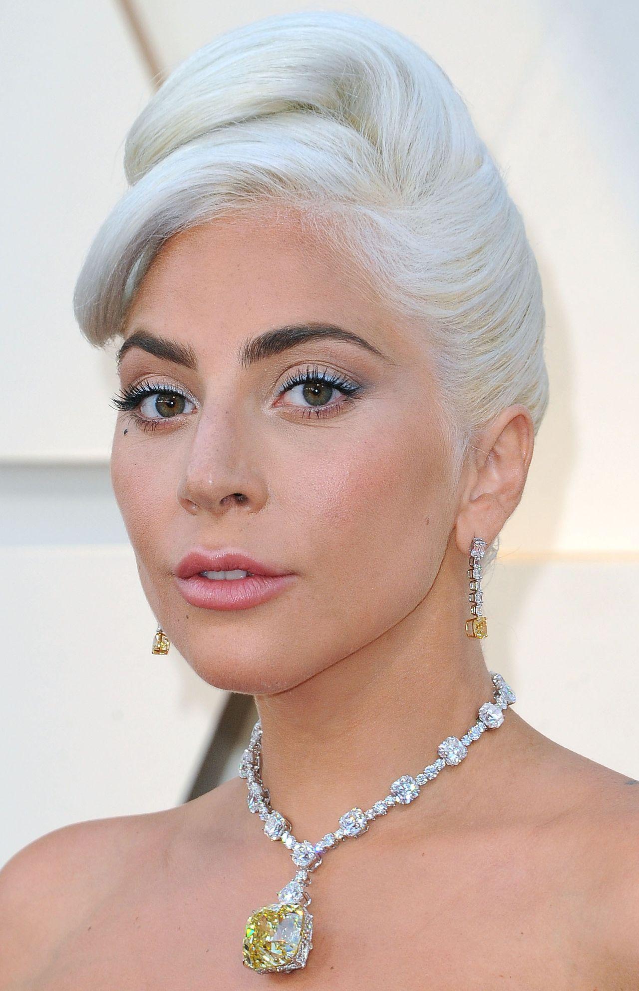 Lady Gaga naszyjnik Oscary 2019