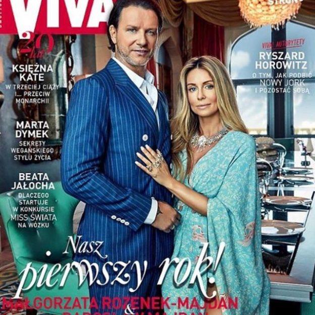 Małgorzata Rozenek i Radosław Majdan w wywiadzie dla Vivy