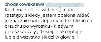 Ewa Chodakowska ma ROZSTĘPY! (Instagram)