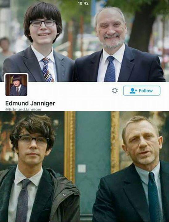 Edmund Janniger - kim są jego rodzice?