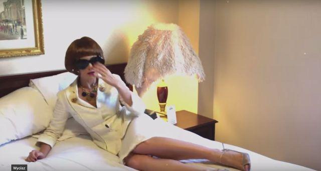 Ups! Anna Wintour pogniewa si� teraz na Ad� Fija�? (VIDEO)