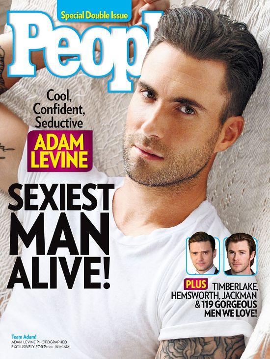 Adam Levine najesksowniejszym mężczyzną na świecie