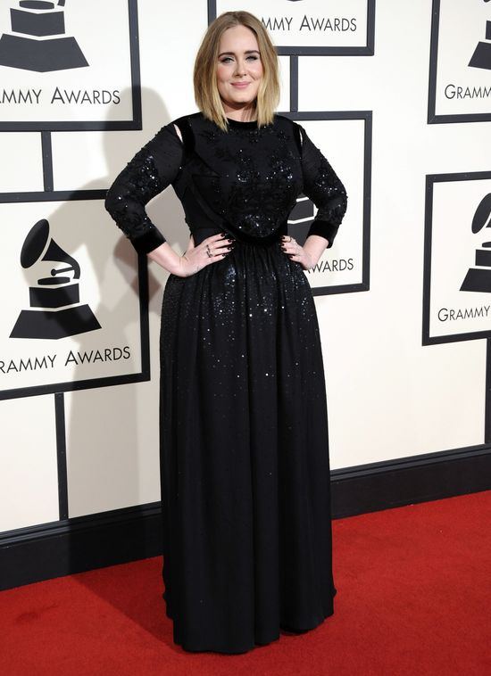 Adele wyjaśnia wpadke na Grammy (VIDEO)