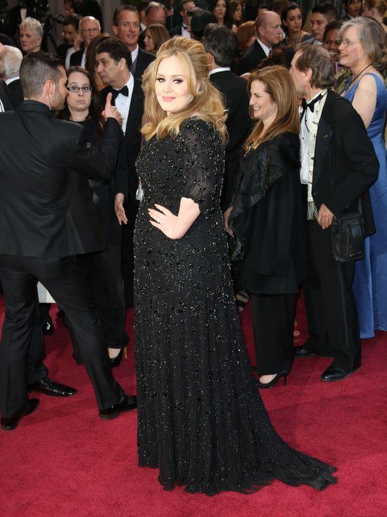 Adele nie wyjdzie na czerwony dywan bez...