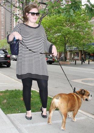 Tusza nie przeszkadza Adele w życiu erotycznym