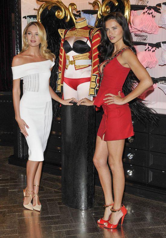 Gorąca Adriana Lima konta romantyczna Candice Swanepoel FOTO