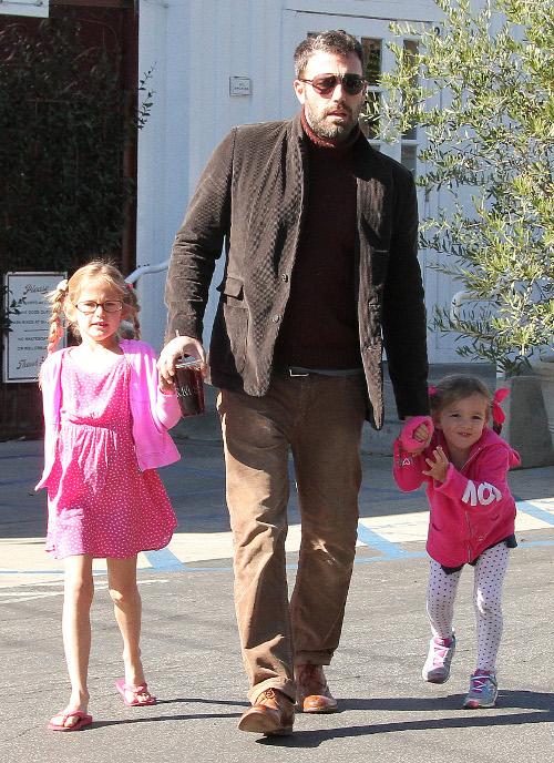 Ben Affleck zaniedbuje żonę i córki