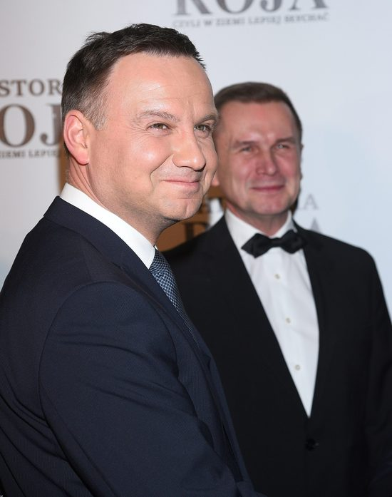 Andrzej Duda skomentował zachowanie żony, Agaty Dudy
