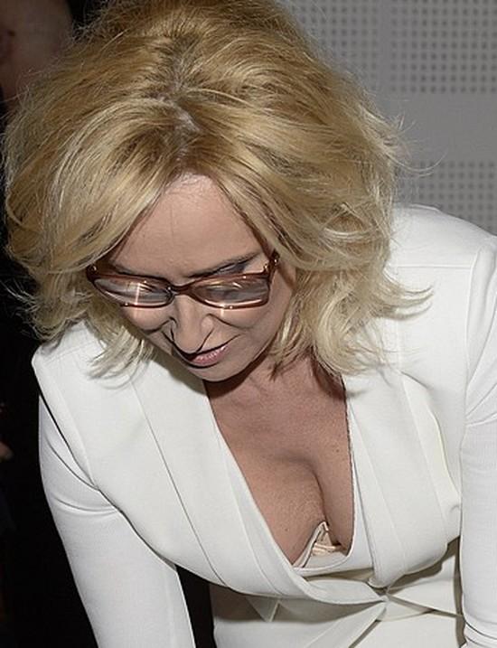 Jak Agata Młynarska kroi tort... (FOTO)
