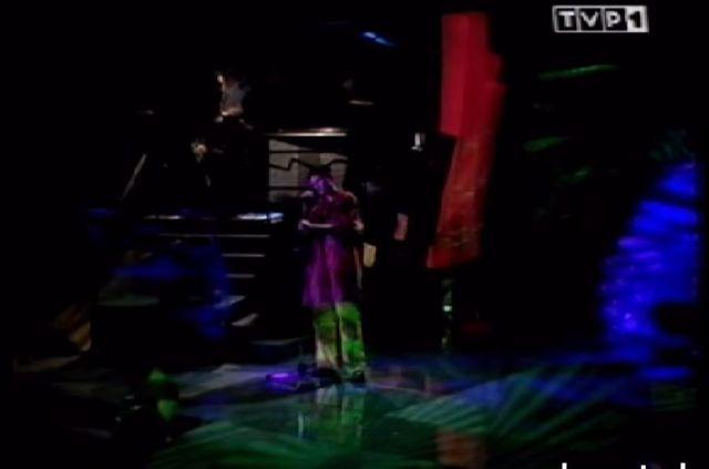 Tak wyglądał pierwszy występ Chylińskiej w telewizji (VIDEO)