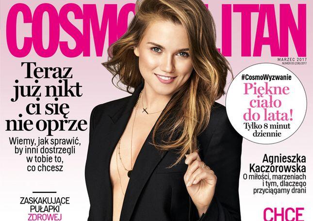 Agnieszka Kaczorowska w Cosmo: Kiedy przybrałam na wadze kilka kilogramów…