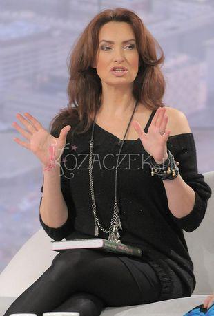 Ciężarna Agnieszka Maciąg na okładce Twojego Stylu (FOTO)