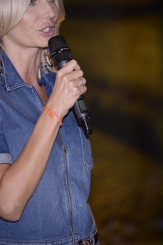 Agnieszka Szulim wybrała maksymalnie ryzykowną stylizację
