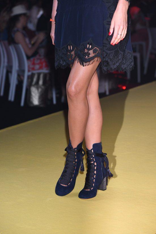 Buty, które Agnieszka Szulim dobrała do sukni ślubnej, wzbudziły sensację