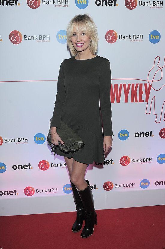 Agnieszka Szulim pokazała nogi (FOTO)