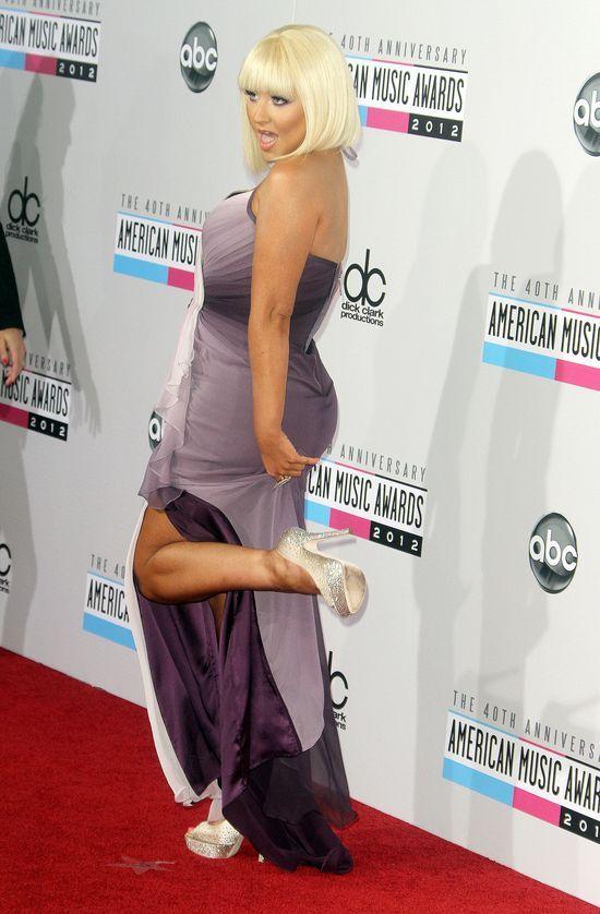 Aguilera boi się przytyć w ciąży