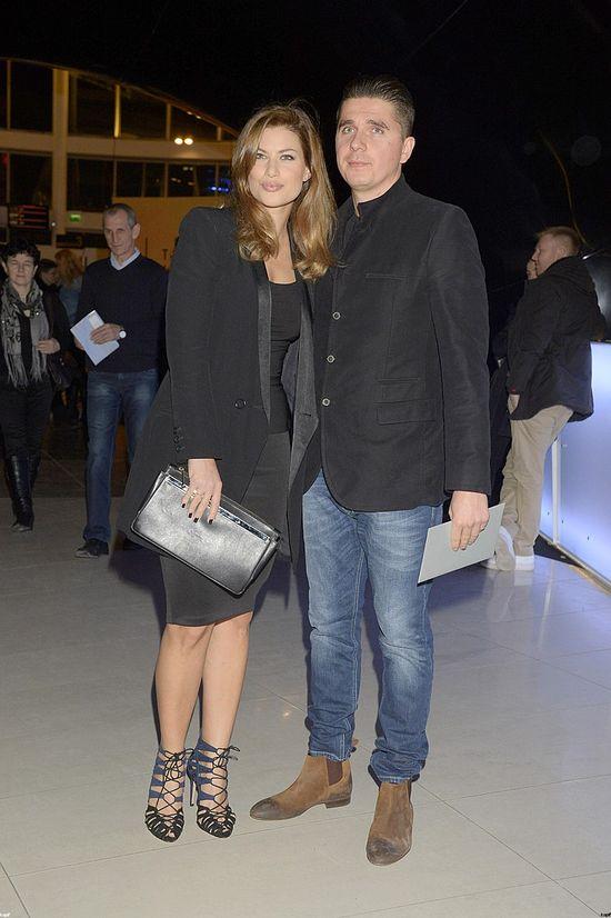Modna Aleksandra Kisio z partnerem (FOTO)