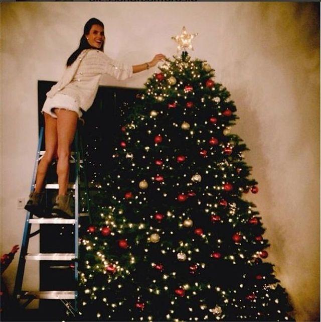 Ta gwiazda już przygotowuje się do Bożego Narodzenia (FOTO)