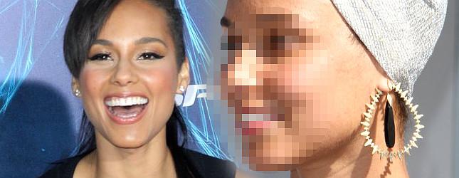 Piegi, przebarwienia – tym razem Alicia Keys nie użyła nawet podkładu? (FOTO)