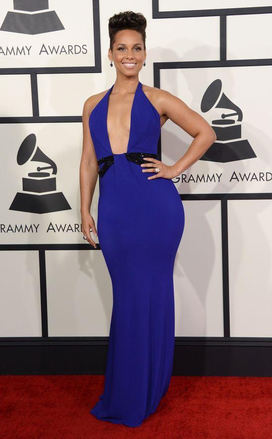 Alicia Keys kontra Amber Rose na Grammy 2014 (FOTO) dekolt