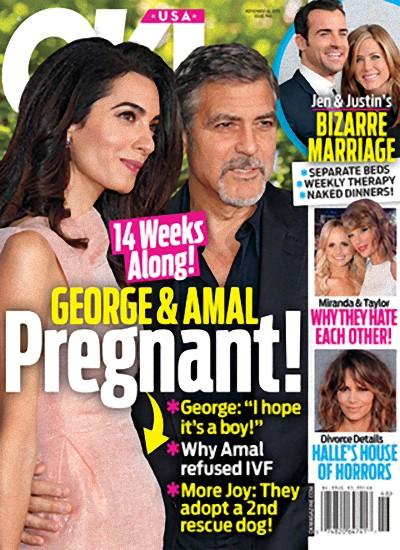 Amal Clooney jest w CIĄŻY?