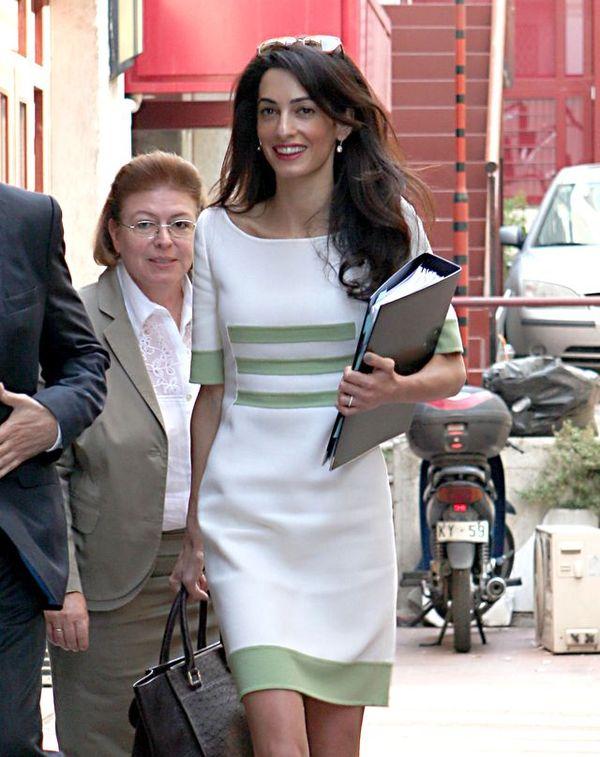 Amal Clooney zostanie pierwszą damą Ameryki?