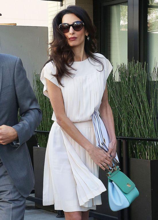 Amal Clooney powinna więcej jeść? (FOTO)