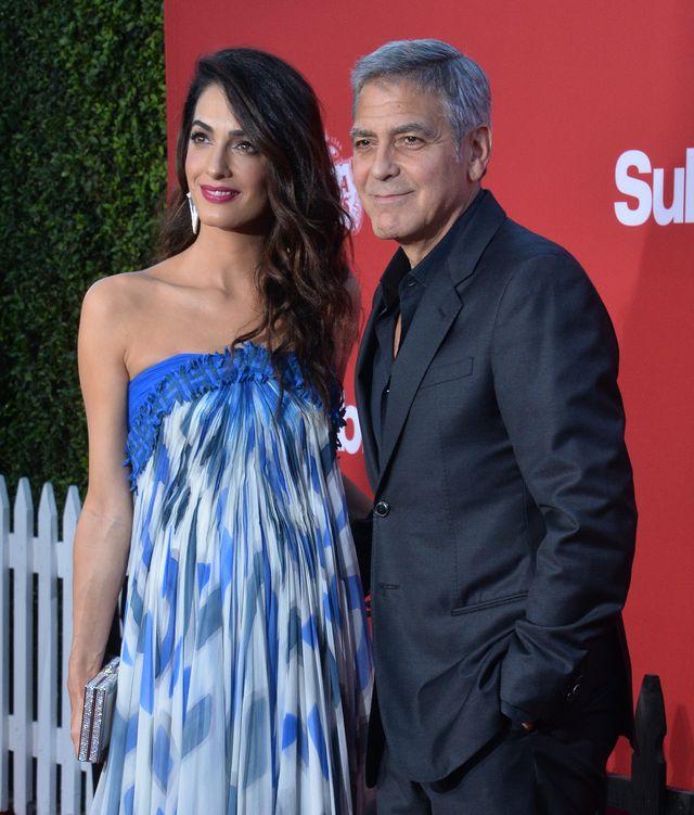 Bliźniaki Clooneyów zrobiły na pokładzie samolotu niezły cyrk