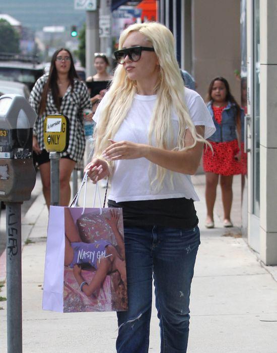 Amanda Bynes zapłakała, gdy spojrzała w lustro (FOTO)