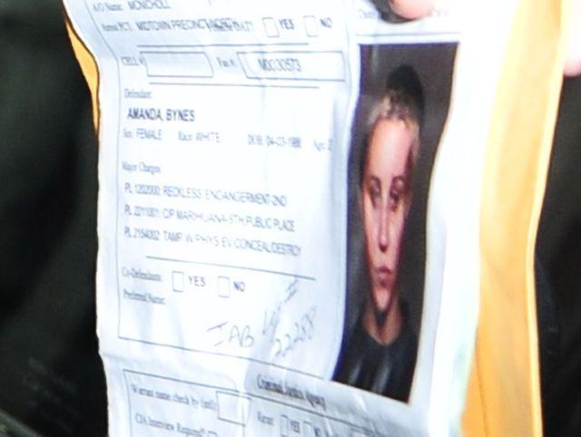 Amanda Bynes wychodzi z aresztu (FOTO)