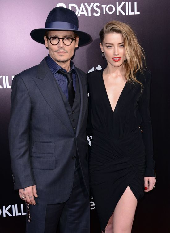 Amber Heard o małżeństwie z Johnnym Deppem