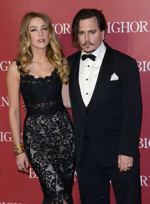 Amber Heard wezwała do domu POLICJĘ
