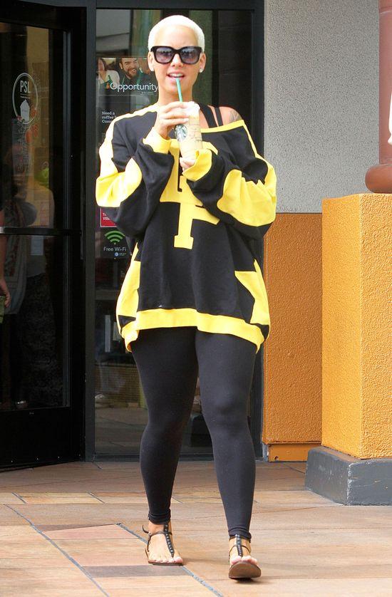 Nie znaliśmy Amber Rose z tej strony (FOTO)