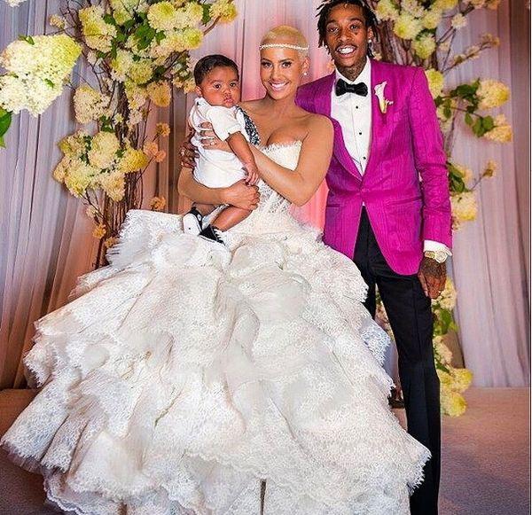 Amber Rose W KOŃCU pokazała zdjęcia ze ślubu (FOTO)