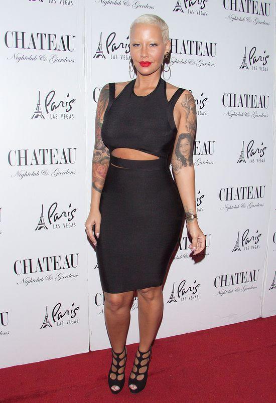 Amber Rose usunie tatuaż z twarzą Wiza? (FOTO)