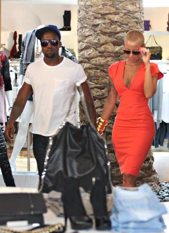 Amber Rose zdradzi�a bardzo wstydliwy sekret Kanye Westa