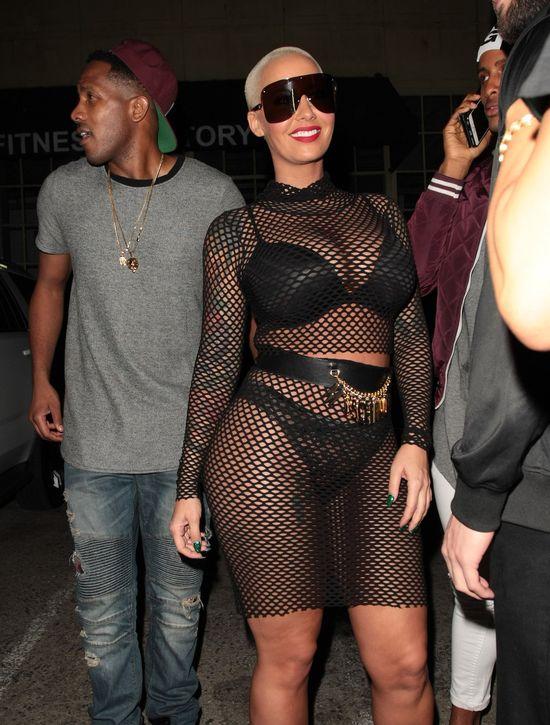 Rihanna będzie wściekła! Z kim spotyka się Amber Rose?