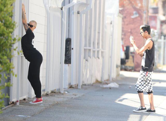 Spontaniczna Amber Rose (FOTO)