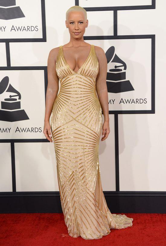 Alicia Keys kontra Amber Rose na Grammy 2014 (FOTO) twarz