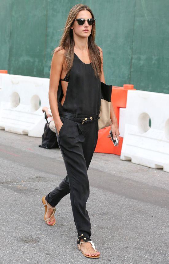 Alessandra Ambrosio seksowna i stylowa (FOTO)