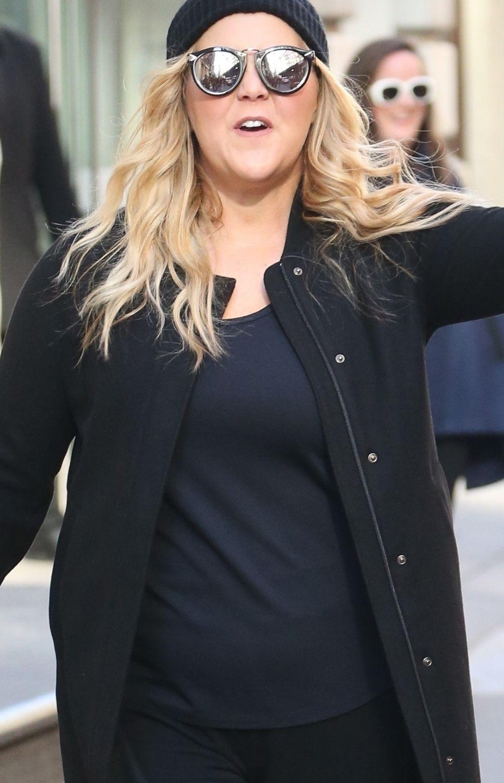 CIĘŻARNA Amy Schumer trafiła do szpitala