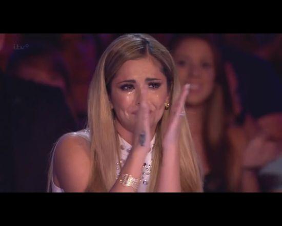 On sprawił, że Cheryl Cole nie mogła przestać płakać [VIDEO]