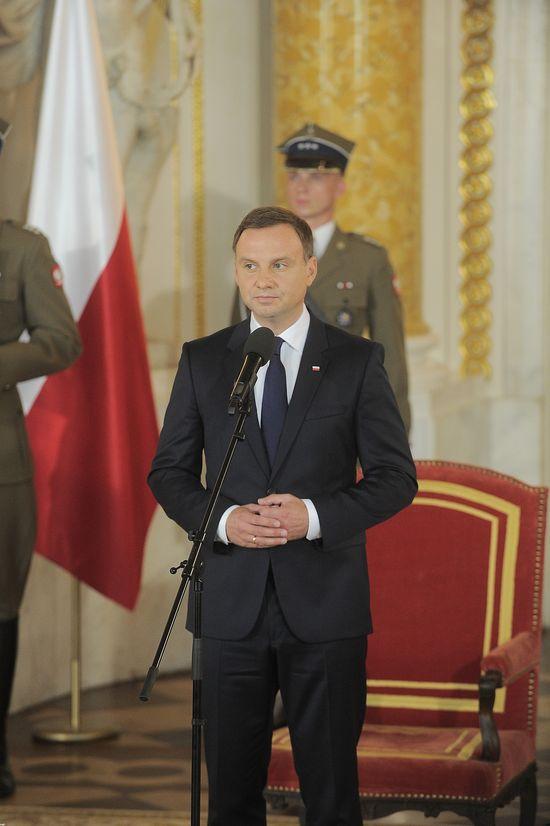 Andrzej Duda odpowiada Katarynie