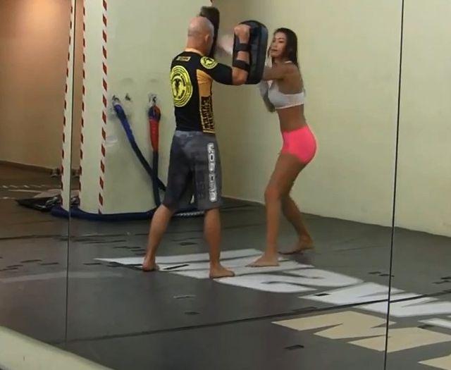 Angelika Fajcht trenuje w MMA (FOTO)