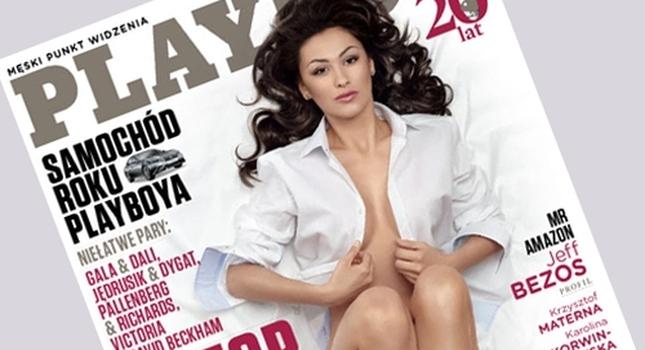 Angelika Fajcht z Top model w Playboyu (FOTO)