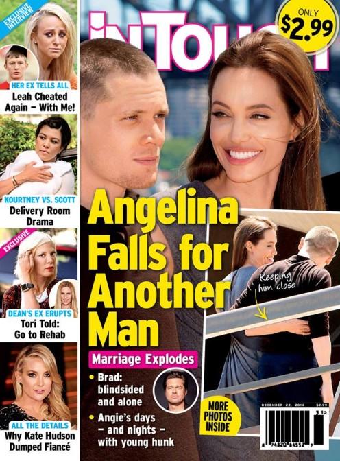 Angelina Jolie ma ROMANS z kolegą z planu?!