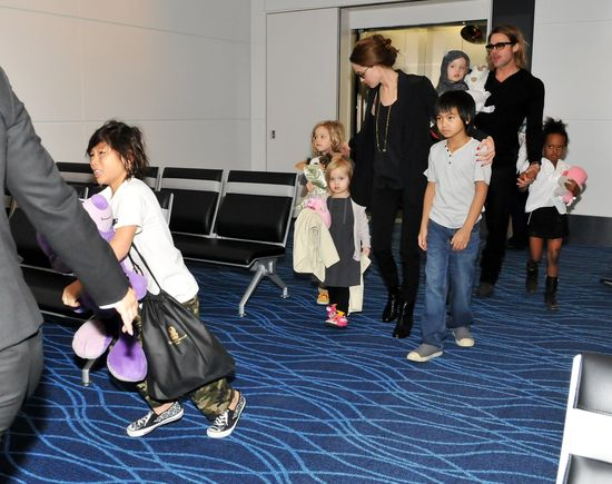 Tak będą wyglądać święta Brada Pitta z dziećmi