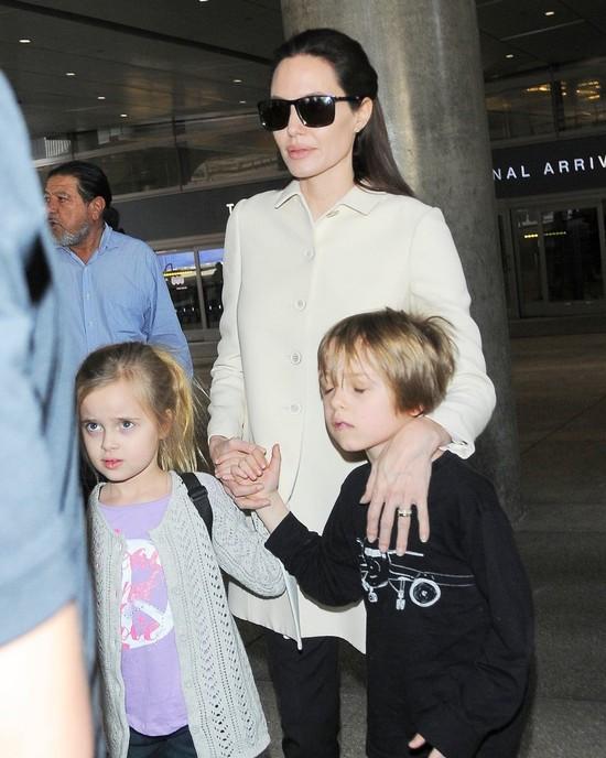 Angelina Jolie przyjmuje teraz końskie dawki hormonów
