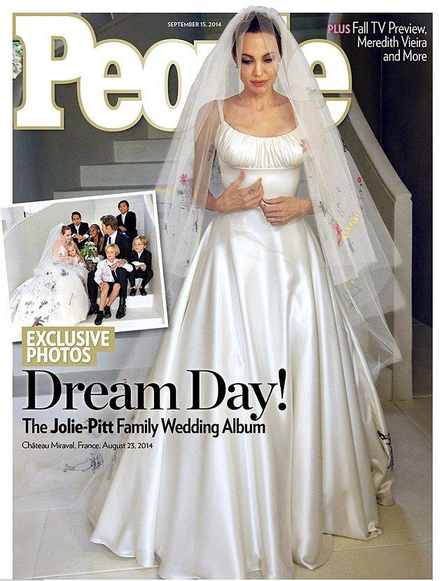 Mamy zdjęcia sukni ślubnej Angeliny Jolie! (FOTO)